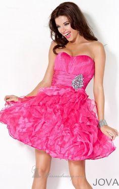 strapless short dress jovani exclusive Jovani 4301 Dress