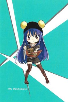 Fairy tail volume 50 postcard No 6 Wendy Marvell Chibi Fairy Tail, Fairy Tail Amour, Natsu Fairy Tail, Fairy Tail Anime, Fairy Tail Family, Fairy Tail Girls, Fairy Tail Love, Fairy Tail Ships, Erza Scarlet