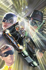 Comic - Batman Meets The Green Hornet (Alex Ross Cover) Comic Book Artists, Comic Book Characters, Comic Book Heroes, Comic Artist, Comic Character, Comic Books Art, Batman 1966, Im Batman, Batman Robin