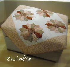 TWINKLE PATCHWORK: Tutorial ruchflower