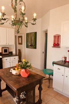 vintage eclectic kitchen ideas   ... 31 Days to an Eclectic Home} Day 21 – Cooking Up an Eclectic Kitchen