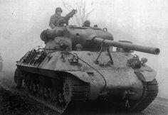 M36 Tank Destroyer of the 704th Tank Bn., 82nd Abn. Div., near Werbomont, Belgium, 20 December 1944