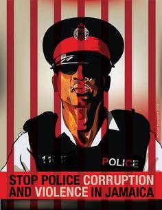 Michael Thompson (Freestyle), police corruption