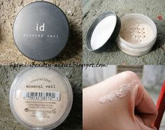 """TIPS & TRICKS :: Bare Escentuals """"Sandwich Method"""" for a flawless/no pores look that looks radiant & airbrushed! Apply Mineral Veil, then BareMinerals Mineral Foundation, then finish w/ Mineral Veil again."""