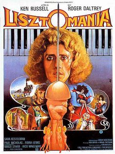 """A clip from movie """"Lisztomania"""" by Ken Russell with Roger Daltrey http://thepinksnout.wordpress.com/2012/07/30/the-phallus-song/"""