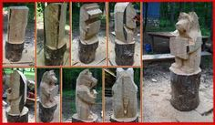 bear instructons. https://www.facebook.com/Bill.Sculptures.tronconneuse.Quebec