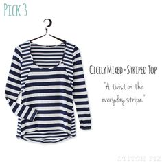 Lana - seems like the multiple stripes would cove a multitude of fluffy sins :) Dawn #stitchfix @stitchfix stitch fix https://www.stitchfix.com/referral/3590654