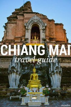 The Definitive Chiang Mai Travel Guide - Departful : A complete travel guide to Chiang Mai, Thailand. What to see and do, where to stay, and what to eat in Chiang Mai, Thailand. Thailand Travel Guide, Visit Thailand, Laos Thailand, Thailand Honeymoon, Chiang Mai Thailand, Croatia Travel, Italy Travel, Phi Phi Island, Resorts