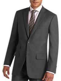 Pronto Uomo Gray Multistripe Modern Fit Suit