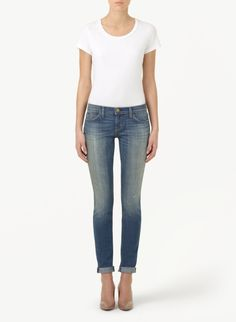 These Current/Elliot Rolled skinny jeans are everything you need to look effortlessly cool.