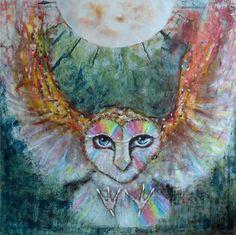 lov za úplňku, akryl na plátno...jestli se vám libí tak tady je více mé tvorby www.mls-art.cz