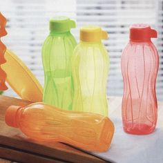 Tupperware water bottles - why buy water don't you have a sink at home??