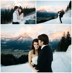 Wir liebenWinterhochzeiten! Verschneite Gipfel. Spiegelglatte, eisblaue Bergseen. Eine romantische kleine Pfarrkirche. Tina und Robert lernten sich beim Skifahren kennen und haben vergangenenNove…