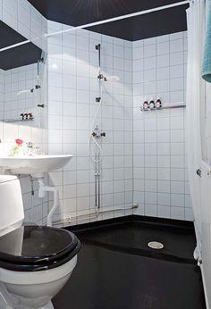 Home Design and Interior Design Gallery of Bathroom Small Apartment Black And White Bathroom Design With Shower Bathroom Designs For Apartments