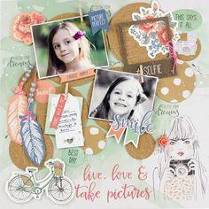 My shiny studio: Kaisercraft Design Team Application Watercolor Background, Paper Background, Little Flowers, Pink Flowers, My Scrapbook, Scrapbook Layouts, Scrapbooking, Cork Sheet, Paper Feathers