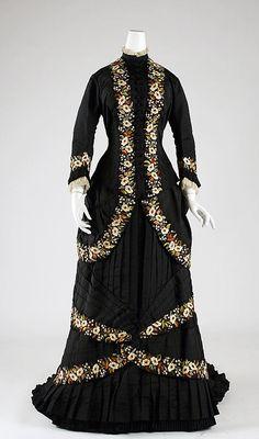 Dress, Dinner 1878–79