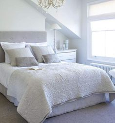 House Beautiful Bedrooms parts can add a contact of favor and design to any dwelling. House Beautiful Bedrooms can imply many things to many people… Bedroom Color Schemes, Bedroom Colors, Beautiful Bedrooms, Home, Bedroom Inspirations, Bedroom Suite, Bedroom Design, Home Bedroom, Home Decor