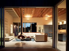 Most radiant-heating systems are gas-powered, these ground-cement floors take the chill off with an electric warming system.