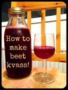 How to make beet kvass. Beet kvass is a fermented beverage that is very easy to make and has numerous health benefits.