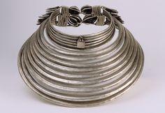 Necklace, 1900–1975. Chinese minority (Miao-Wuya). Silver. The Metropolitan…