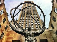 Atlas Statue, 30 Rockefeller Plaza, Manhattan, New York
