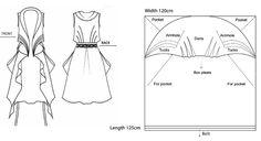 "Elena Fashion Design Workshops | EWST fashionlab : ""ZERO WASTE""project, Zheng Cui Lan/Sirina Fashion Graduation Collection"