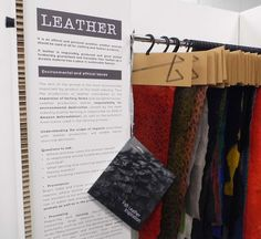 Fish Leather by http://www.atlanticleather.is/ featured at The Sustainable Angle's Future Fabrics Expo 2013 http://thesustainableangle.wordpress.com/2013/07/25/fashion-svp-to-host-3rd-future-fabrics-expo/