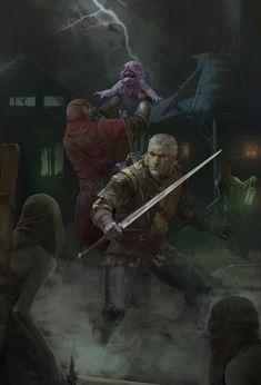 ArtStation - The Witcher 3 - Igosha, Evgeniy Loginov
