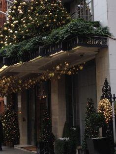 Christmas at Claridge's Hotel, London