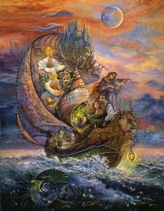 Voyage to Murrlis • Josephine Wall