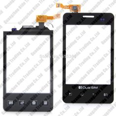Touch screen Digitizer front glass replacement  for For  LG E405 Free shipping