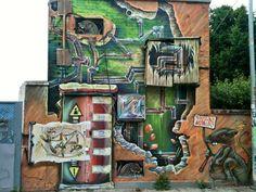 Da un muro di Padova
