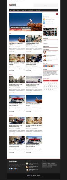 Madidus - Blog & Magazine Theme • Download ➝…