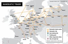 Hanseatic trade (stratfor.com)