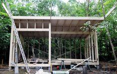 Why Teak Outdoor Garden Furniture? Porch Swing, Outdoor Furniture, Outdoor Decor, Tiny House, Pergola, Woodworking, Yard, Outdoor Structures, Architecture