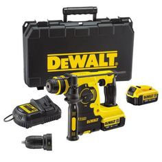 DEWALT DCH254M2 3 Function Hammer Drill SDS Plus