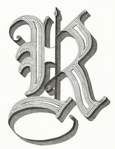 The Letter 'R' | hand lettering by seanwes