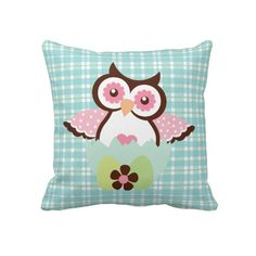 Easter Owl Pillow