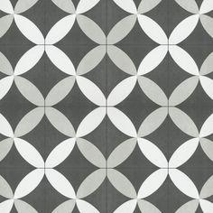 Merola Tile Twenties Petal Encaustic in. Ceramic Floor and Wall - The Home Depot Ceramic Floor Tiles, Wall Tiles, Tile Floor, Tile Projects, Shower Floor, Wall Patterns, Stone Tiles, Patterned Wall, Flooring