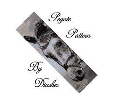 Horse Peyote Beading Pattern Bracelet Beaded pattern Even