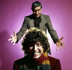 Tom Baker and Terry Nation