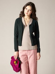 Cashmere Open Front Cardigan by Marni on Gilt.com