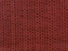 """Perennials fabric """"Chenille Number 5"""" in Earth Red - 1"""" horizontal repeat, NanoSeal finish (UV and spill resistant fabric)"""