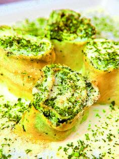 Cannelloni con rucola e mozzarella - Primi / Pasta