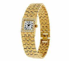 Jacqueline Kennedy Goldtone Bracelet Watch