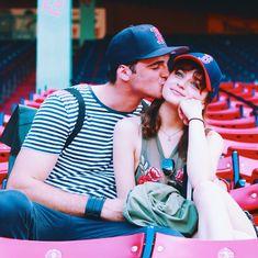 Joey King & Jacob Elordi. The Kissing Booth stars together.