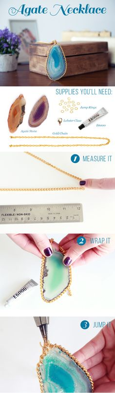 I love this DIY statement necklace!!