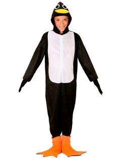 1ae29655199c Penguin Children Costume Penguin Hooded Jumpsuit outfit for Children Fancy  Dress, Themed Birthday Party Ideal