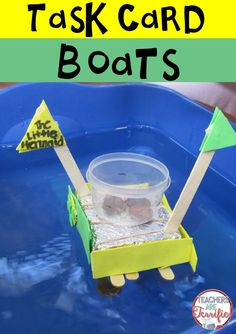 Best ever STEM Challenge! It's a boat building event which is already spectacular, but in order to get materials students must solve 8 math problems! Correct answers mean more supplies!