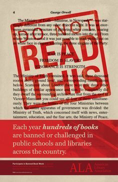 Banned Books Week 2012 - Banned Books Week 4 Teens - Guides at Contra Costa County Library Teen Library, Library Ideas, Library Memes, Library Quotes, Library Boards, Library Room, Book Week, Book Lists, Reading Lists